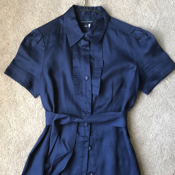 Banana Republic Dresses & Skirts - Pristine Navy Shirt Dress by BR - Size 2
